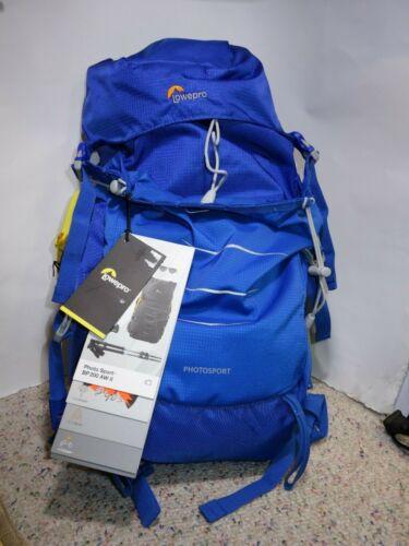 Lowepro Photo Sport BP 200 AW II Camera Backpack Case - Blue (NWT)