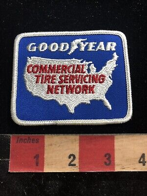 Commercial Tire (GOODYEAR COMMERCIAL TIRE SERVICING NETWORK Advertising Patch 93NW)