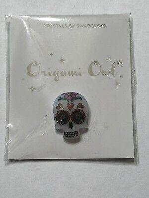 Origami Owl Sugar Skull Swarovski Charm