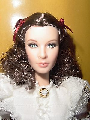 Gone With The Wind Scarlett O'Hara~Gold Label Barbie Doll~NRFB With Shipper