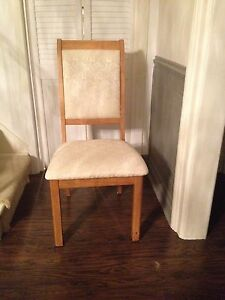 6 Oak Chairs