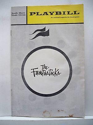 THE FANTASTICKS Playbill CAROLYN CONNORS / MARK BAKER / JOHN GAVIN MA 1970