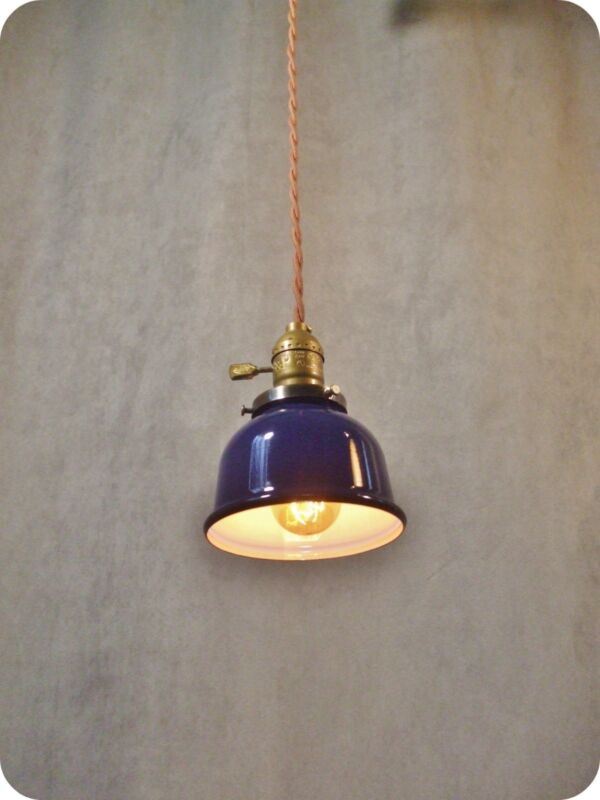 Vintage Industrial Pendant Light - Machine Age Lamp