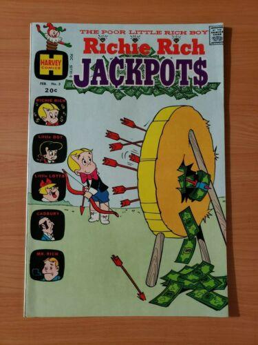 💲 Richie Rich Jackpots #3 ~ NEAR MINT NM ~ 1973 Harvey Comics