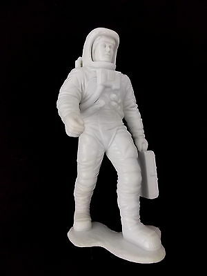 "Vintage Louis Marx Astronaut PVC Figure 5.75"" Tall Space Exploration Toy #3216"