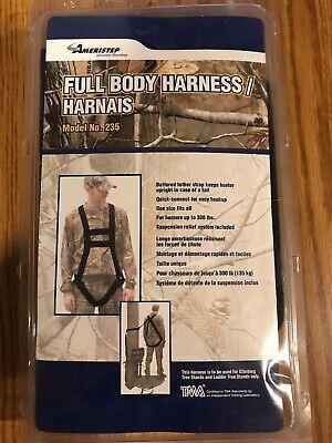 Ameristep Full Body Safety Harness - Ameristep Full Body Safety Harness New in Packaging Model #235 BRAND NEW