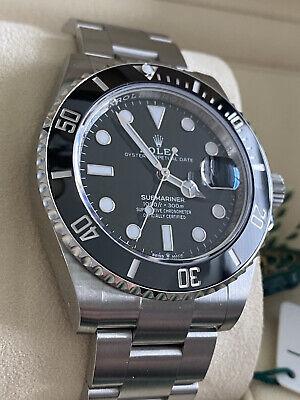 Rolex 2021 Submariner Date 41mm Black Ceramic Watch 126610LN Complete Set