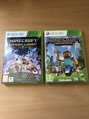 Minecraft Xbox 360 Bundle Edition + Story Mode Games X2 Microsoft afun