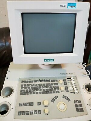 Siemens Sonoline Prima Ultrasound System - Parts - Sold As Is