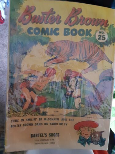 Buster Brown Comic Book 25 VG 4.0 1946 - $2.50