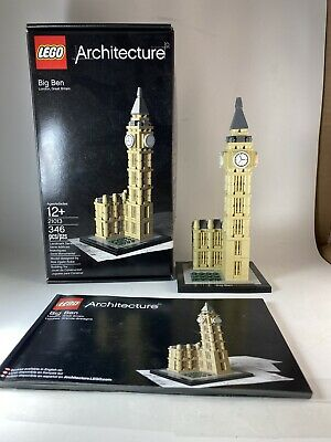 LEGO Architecture Big Ben (21013) Complete, With instructions & Box