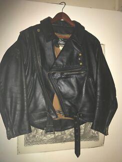 Mars Motorbike Vintage Leather Jacket size 36 unisex, Free Postage!!! Nerang Gold Coast West Preview