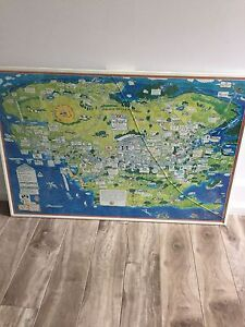 Poster Map - The County