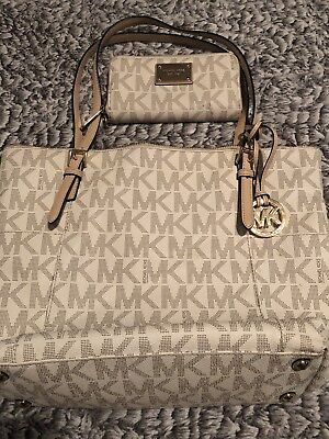 michael kors handbag and wallet