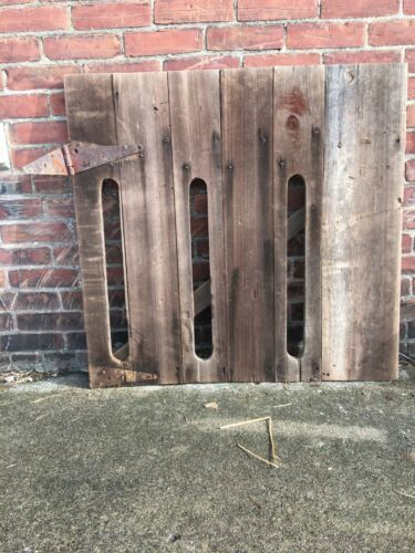 ANTIQUE OLD RUSTIC BARN DOOR 19TH CENTURY