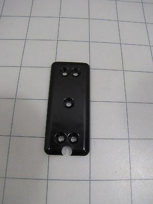 Wunder-bar Wunderbar Ph10-27 Bottom Button Plate Black New