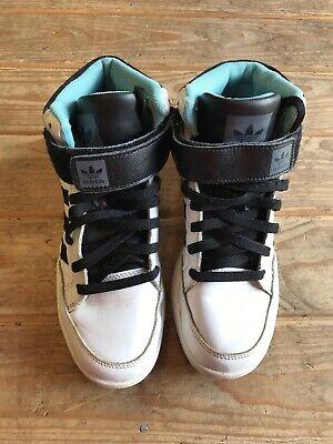 Adidas Originals Varial Mid High Tops. Size 7.5 Uk. No Insoles.