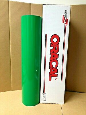 Oracal 651 1 Roll 24 X 50yd 150ft Light Green 062 Gloss Sign Vinyl