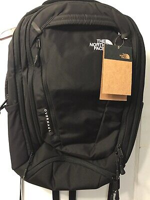 The North Face Overhaul 2.0 New Release 40 Liter Backpack Black Fast Shipping