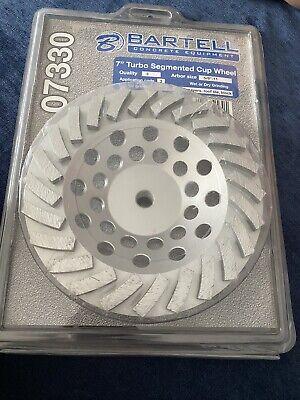 Bartell Concrete Equipment 7 Turno Segmented Diamond Grinding Cup Wheel