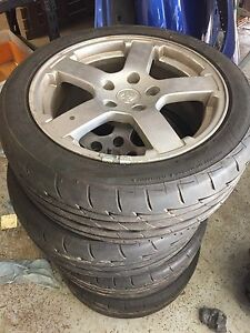 Commodore wheels  R17 235 45 Carbrook Logan Area Preview