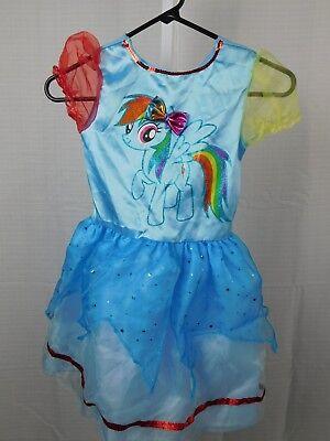 My Little Pony Rainbow Dash Halloween Dress-Up Costume Dress 4-6X Small #7467