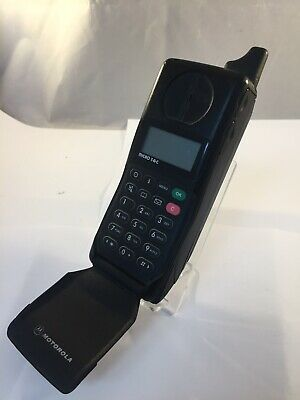 Untested Motorola International 7500 Micro TAC Brick Vintage Retro Mobile Phone