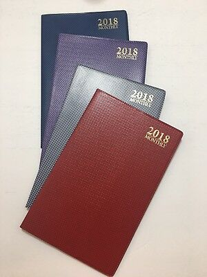 2018 Dated Day Planner Calendar Appointment Book Monthly 5x8