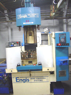 Engis H42 4-Stage Production Hone Honing Bore Finishing Systems w/ PLC (Stage Production System)