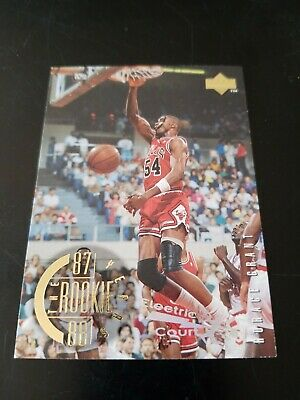 RARE Horace GRANT 1995 Electric COURT #146 Rookie Years Bulls The Last Dance
