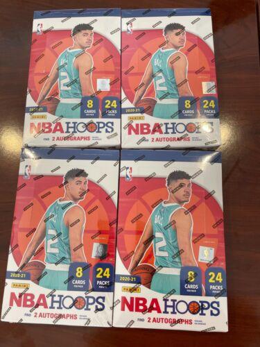 2020-2021 Panini NBA Hoops Basketball Hobby Pack (1 Pack)! Look for Wiseman/Ball