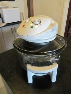 Convection oven halogen as new