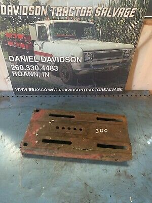 Farmallih 450400350300 Tractor Battery Box Seat Base Lid Cover