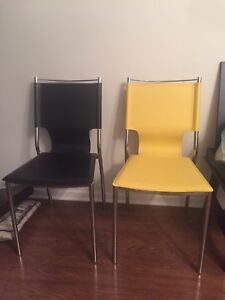 Set of two IKEA table chairs