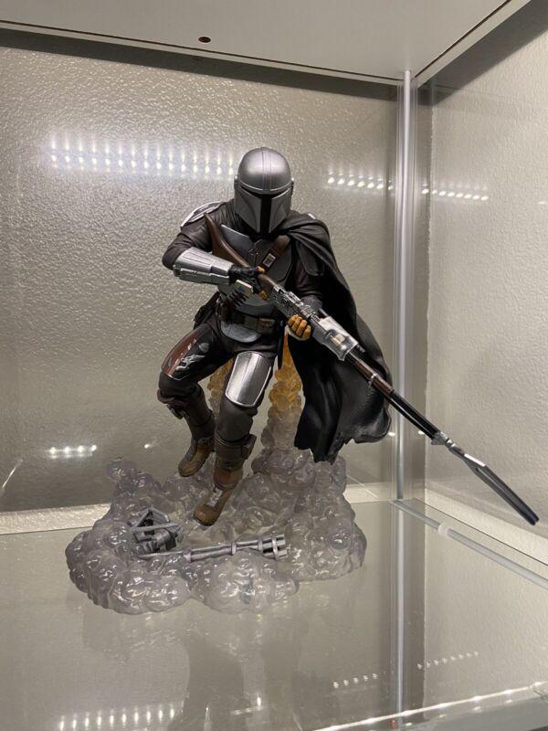 THE MANDALORIAN First Gallery Diorama PVC Statue Star Wars Disney Diamond Select