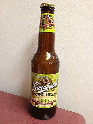 "Leinenkugels Hoppin"" Helles Leinie empty glass beer bottle 2013 Collector"