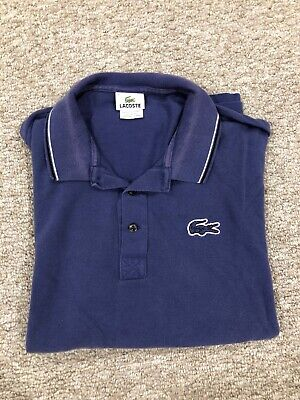 Lacoste Blue Polo 7 XL