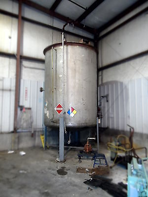 Reduced Used 3000 Gallon Stainless Steel Tank