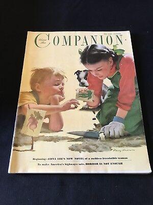 Retro Magazine Advertisement - Vintage Retro Woman's Home Companion Magazine May 1949 Advertising