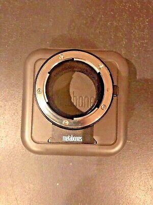 Metabones Nikon F Lens to Sony E-Mount Camera T Adapter II, Black Matte