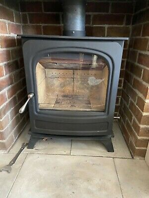 USED WOOD BURNING STOVE - ARADA HOLBORN 5 WIDE