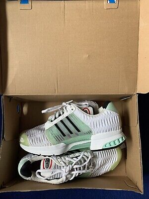 Adidas Climacool Trainers size uk 7 white, only worn once, excellent condition