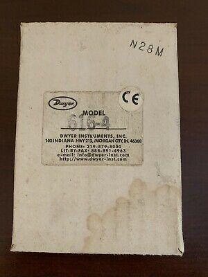 Dwyer Differential Pressure Transmitter 0-20 Psi Model 616-4