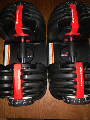 Bowflex SelectTech 552  Adjustable Weight Dumbbells Pair  FAST SHIPPING!