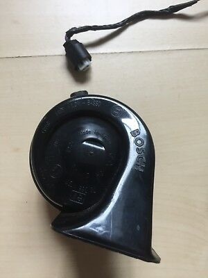 OEM BMW E53 12v horn High & Low Tone With Wiring (Bosch)