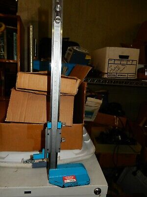 Fowler Stainless 12 Height Gage Gage Tool Machinist Toolmaker - Used