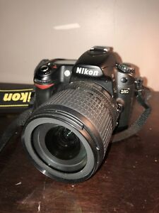 Nikon D80 - Comes with 2 lenses, charger, and camera bag