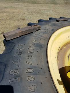 John Deere duel wheels