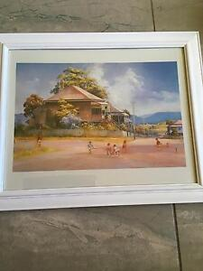 DARCY W. Doyle FRAMED print Berkeley Vale Wyong Area Preview