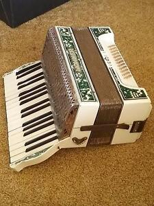 Antique piano accordion. Kyabram Campaspe Area Preview